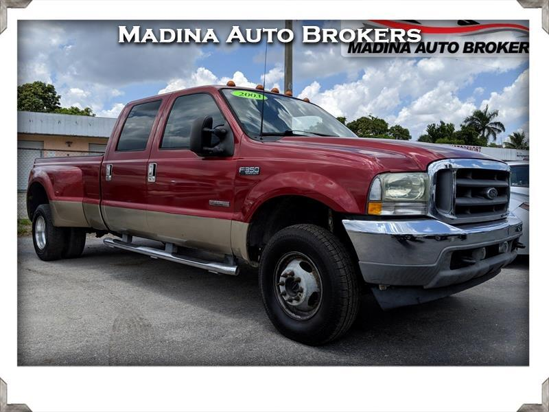 "2003 Ford Super Duty F-350 DRW Crew Cab 156"" XL 4WD"