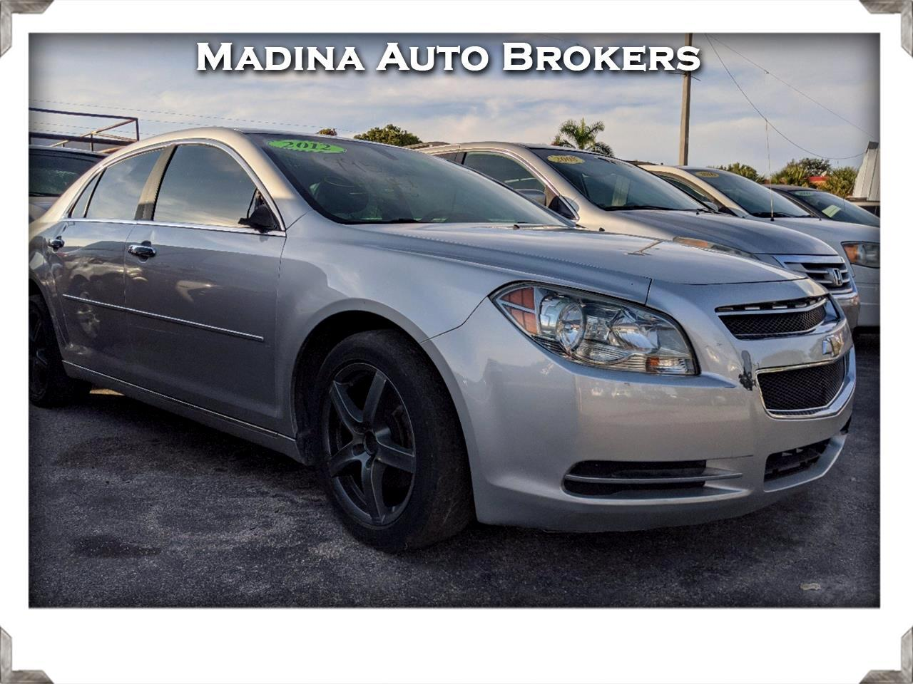 Chevrolet Malibu 4dr Sdn LT w/2LT 2012