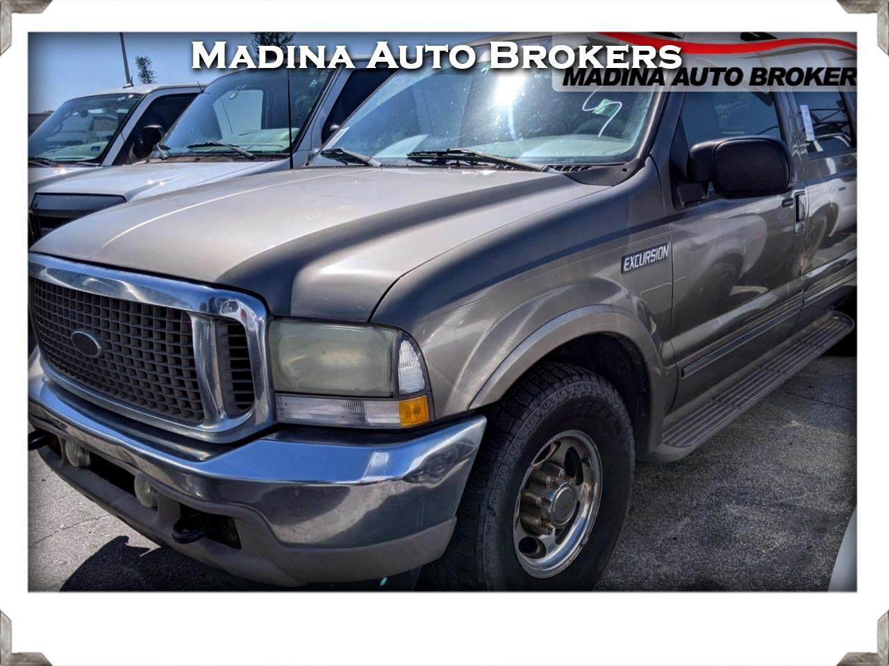 "Ford Excursion 137"" WB 7.3L Limited 2002"