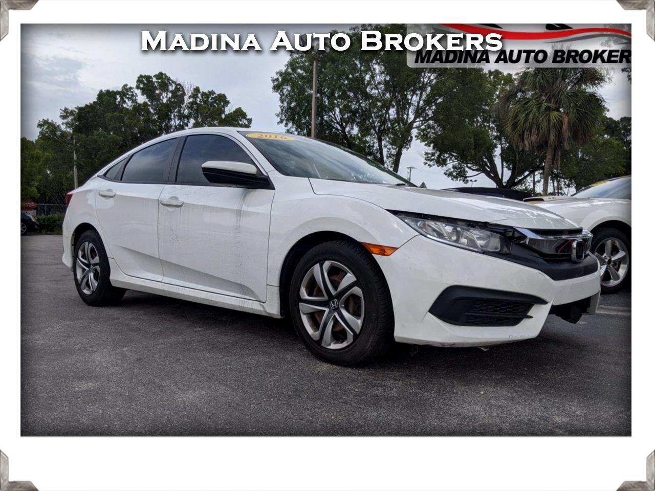 Honda Civic Sedan 4dr CVT LX 2016