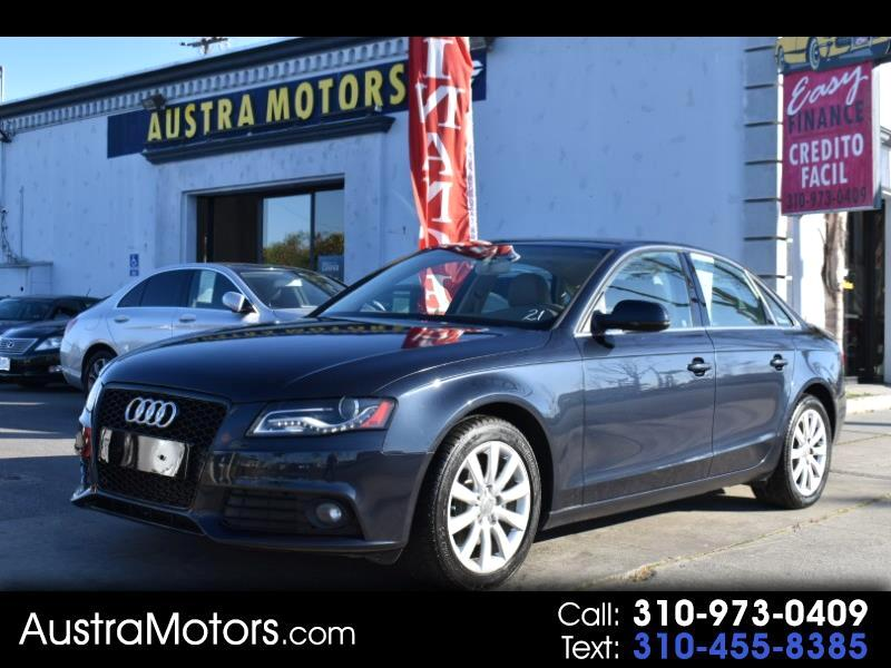 Audi A4 2.0 T Sedan FrontTrak Multitronic 2012