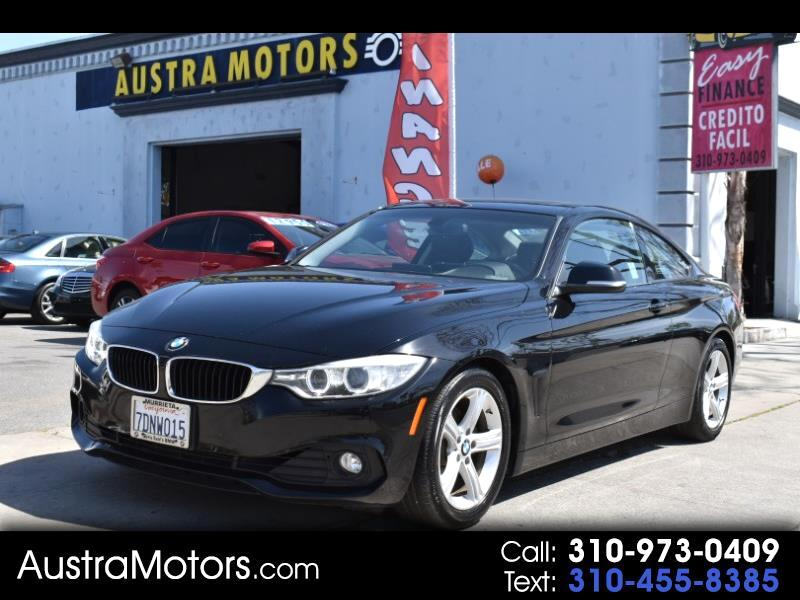2014 BMW 4-Series 428i coupe