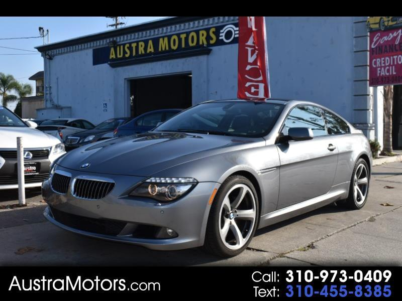 BMW 6-Series 650i Coupe 2009