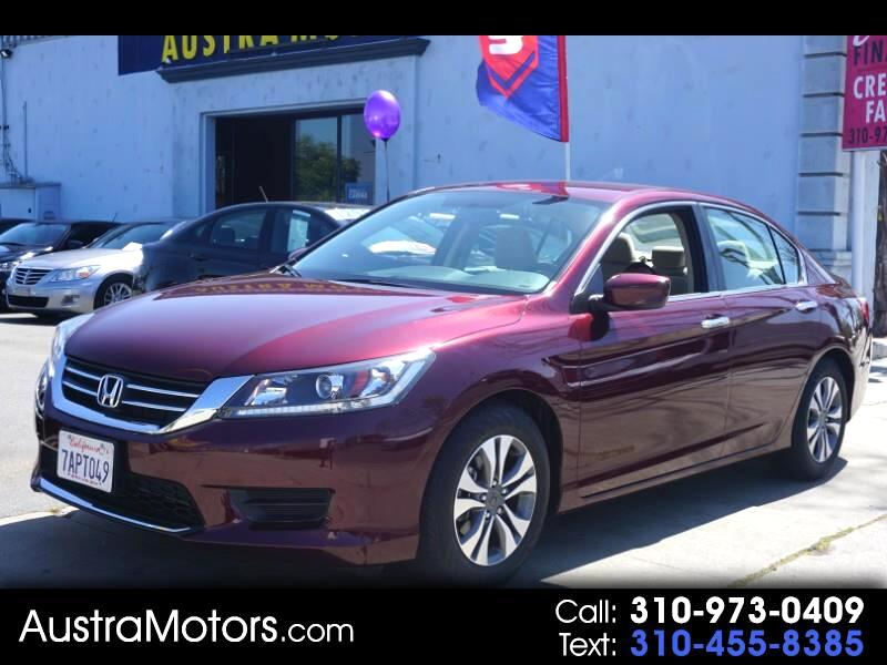 Honda Accord LX Sedan CVT 2015