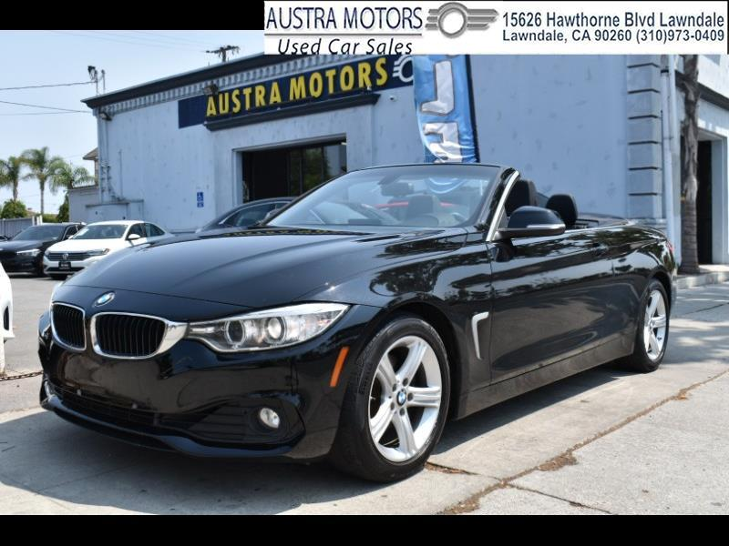 BMW 4-Series 428i SULEV Convertible 2014