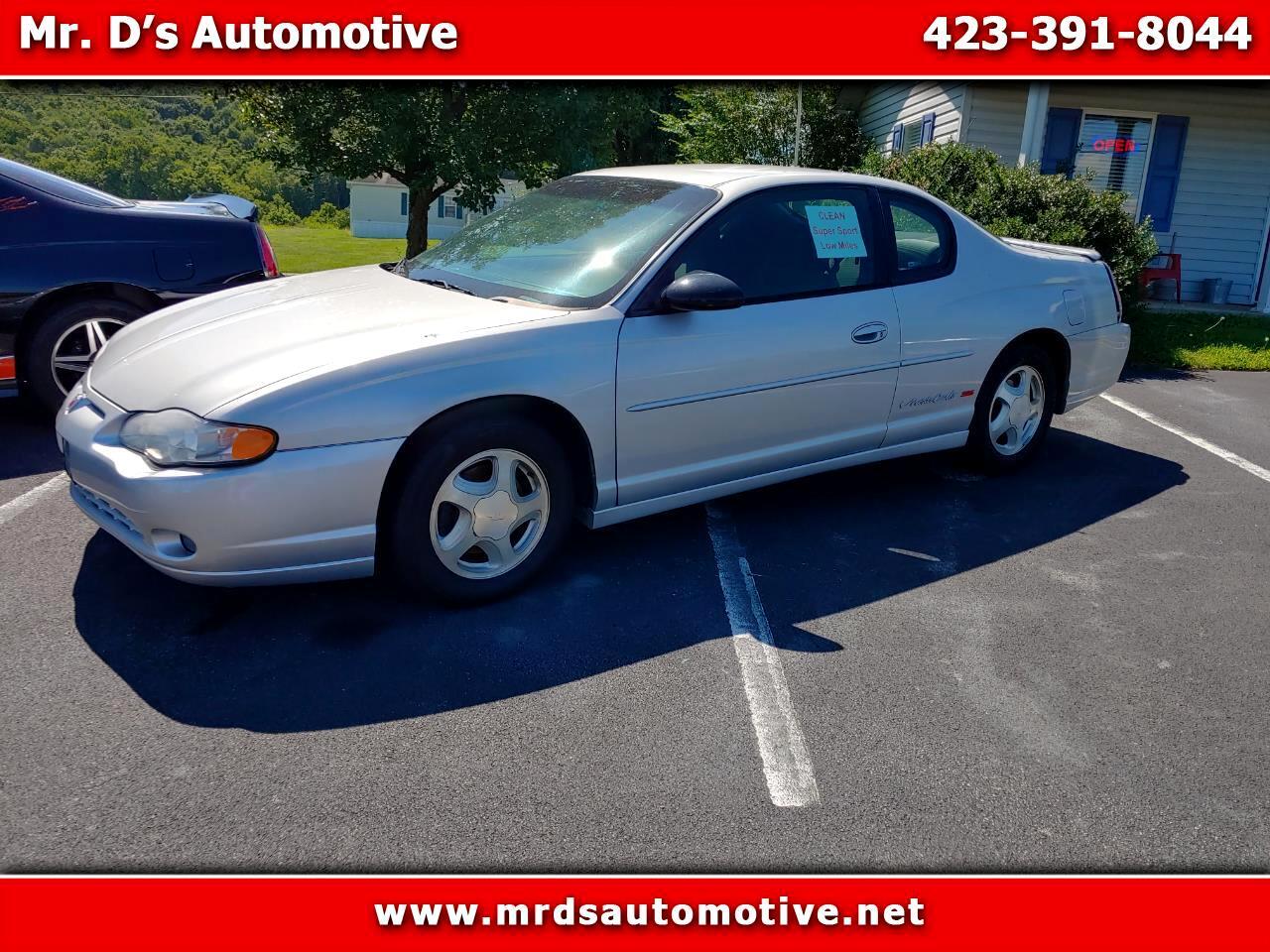 Chevrolet Monte Carlo SS 2001