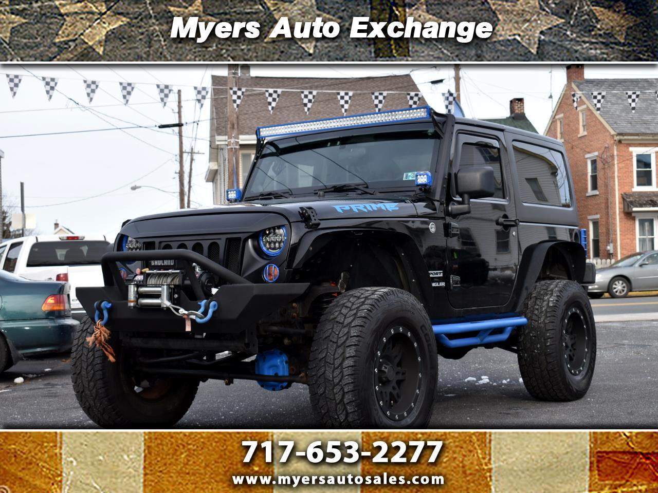 Jeep Wrangler Sport 4WD 2012