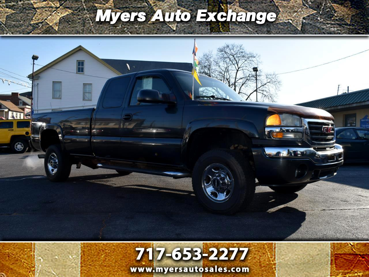 GMC Sierra 2500HD SLE Ext. Cab Long Bed 4WD 2003