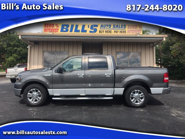 "2008 Ford F-150 2WD SuperCrew 145"" XLT"
