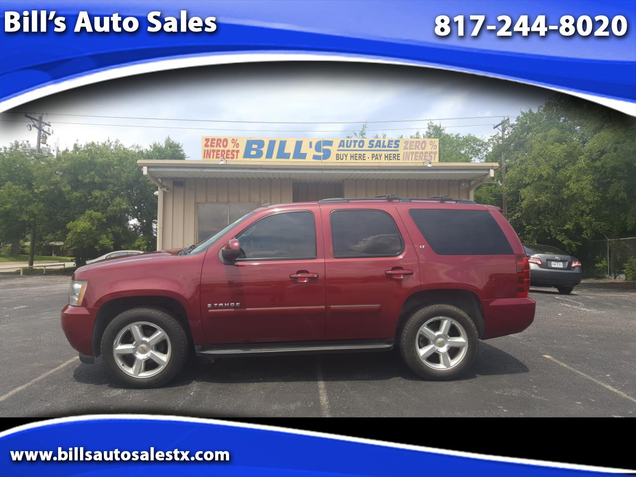 Buy Here Pay Here 2007 Chevrolet Tahoe For Sale In Ft Worth