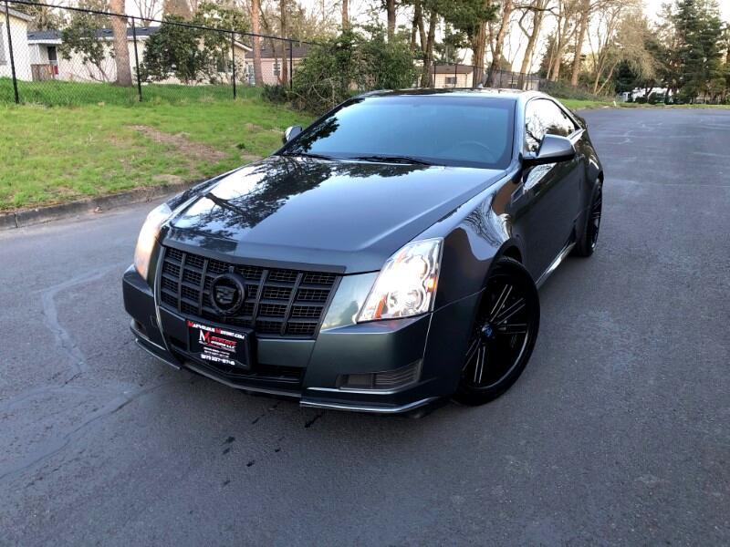 Cadillac CTS Base Coupe 2012