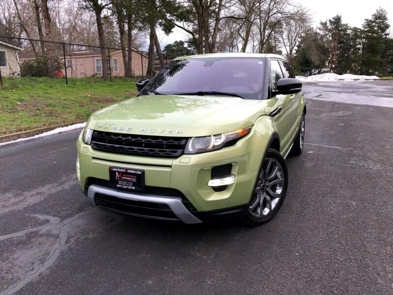 Land Rover Range Rover Evoque Dynamic Premium 5-Door 2012