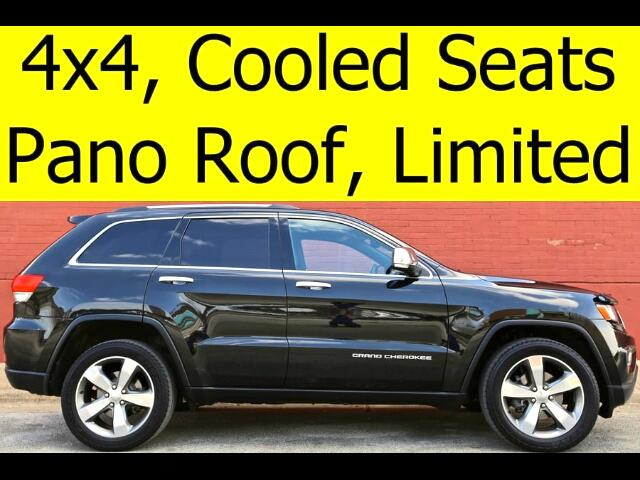 2015 Jeep Grand Cherokee Limited 4x4 PANO ROOF COOLED SEATS NAVIGATION