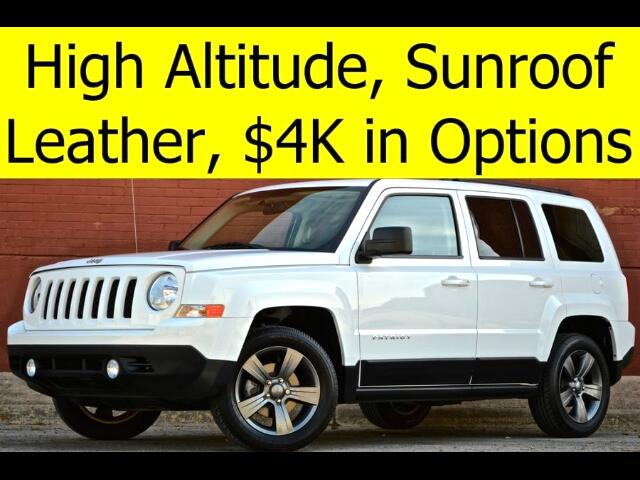2015 Jeep Patriot High Altitude Edition with Leather, Sunroof, Touch