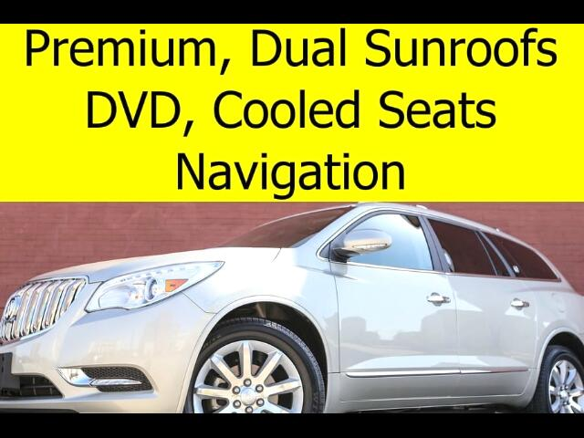 2015 Buick Enclave PREMIUM DVD SUNROOFS TOW PACKAGE