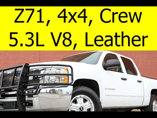 2013 Chevrolet Silverado 1500 LT 4WD Crew Cab with Leather Z71