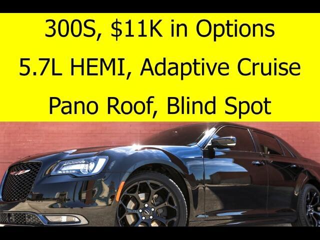 2016 Chrysler 300 S HEMI RADAR CRUISE PANO ROOF