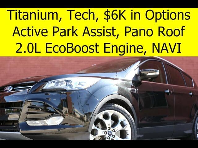 2015 Ford Escape Titanium TECH PACK PANO ROOF