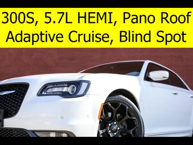 2015 Chrysler 300 S RADAR CRUISE HEMI PANO ROOF