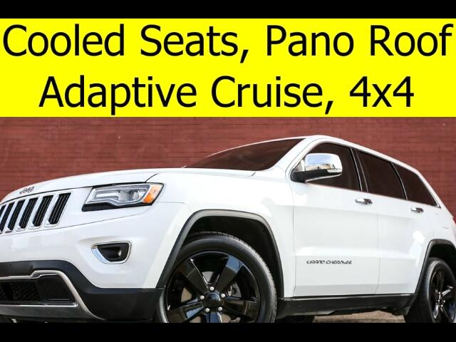 2014 Jeep Grand Cherokee 4x4 LIMITED PANO ROOF COOLED SEATS