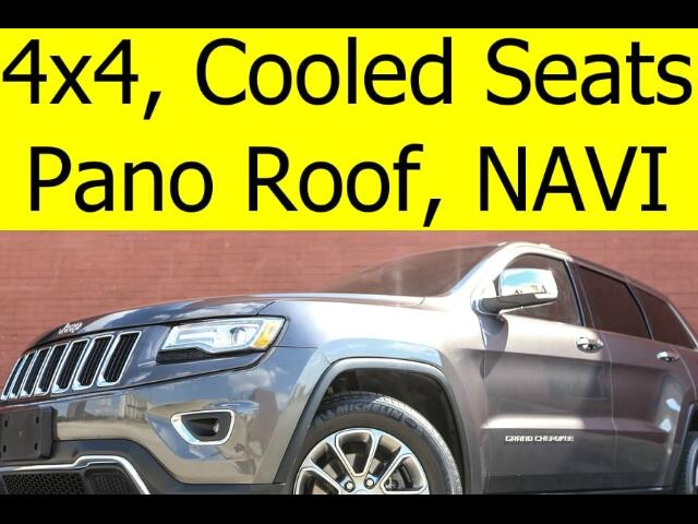 2015 Jeep Grand Cherokee 4x4 LIMITED PANO ROOF COOLED SEATS