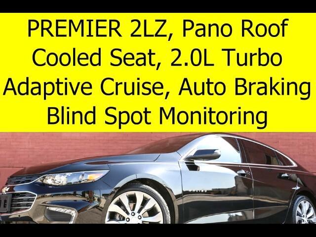 2016 Chevrolet Malibu 2LZ RADAR CRUISE SUNROOF BLIND SPOT