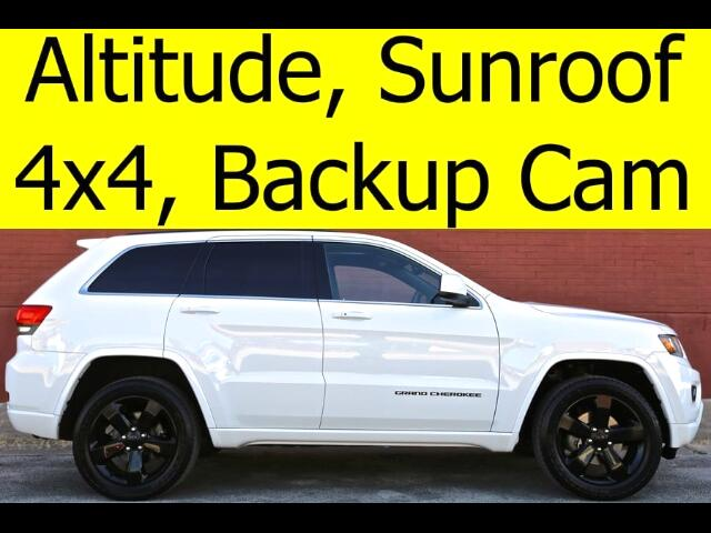 2015 Jeep Grand Cherokee Altitude 4x4 SUNROOF