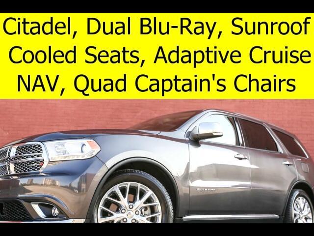 2015 Dodge Durango Citadel DVD RADAR CRUISE QUAD CHAIRS
