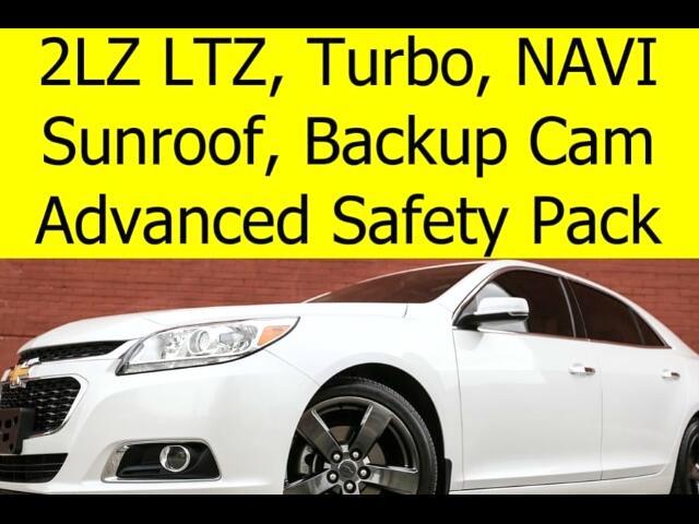 2015 Chevrolet Malibu 2LZ TURBO SAFETY PACKAGE