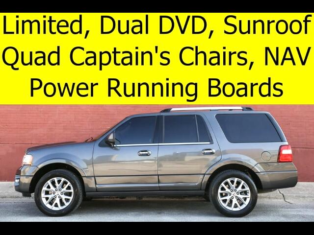 2015 Ford Expedition LIMITED POWER BOARDS DVD