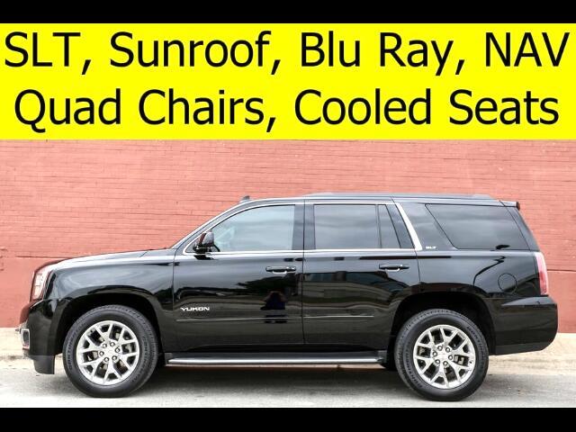 2016 GMC Yukon SLT DVD QUAD CHAIRS COOLED SEATS