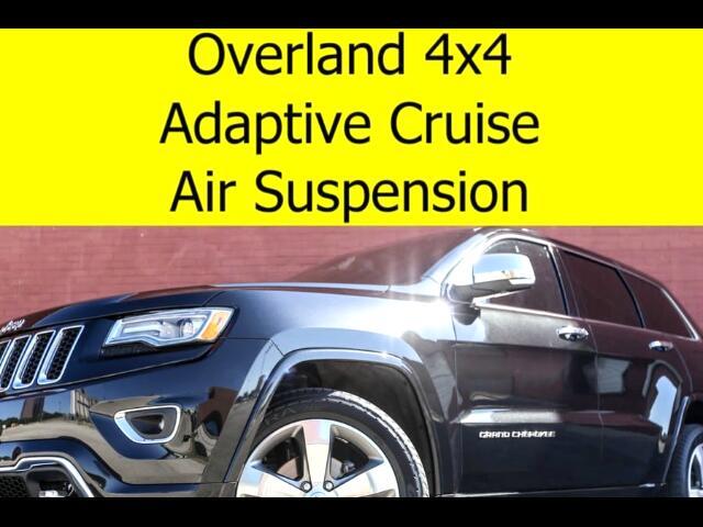 2015 Jeep Grand Cherokee Overland 4x4 RADAR CRUISE TECH GROUP