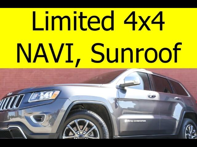 2014 Jeep Grand Cherokee 4x4 Limited Tow Package