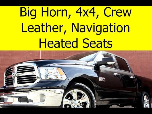 2016 RAM 1500 BIG HORN CREW CAB 4x4 LEATHER