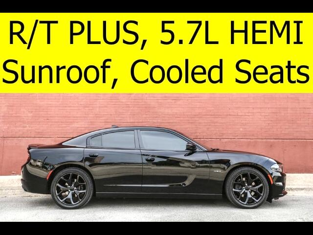 2016 Dodge Charger R/T PLUS Sunroof Cooled Seats