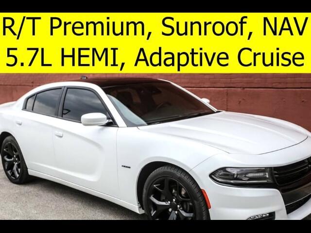 2015 Dodge Charger R/T PREMIUM RADAR CRUISE BLACK ROOF