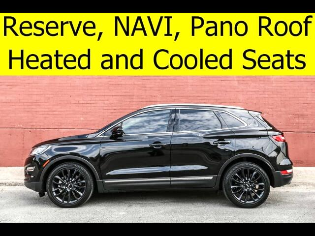 2015 Lincoln MKC RESERVE Package and Climate Package