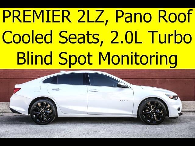 2016 Chevrolet Malibu 2LZ Premier Pano Roof Cooled Seats