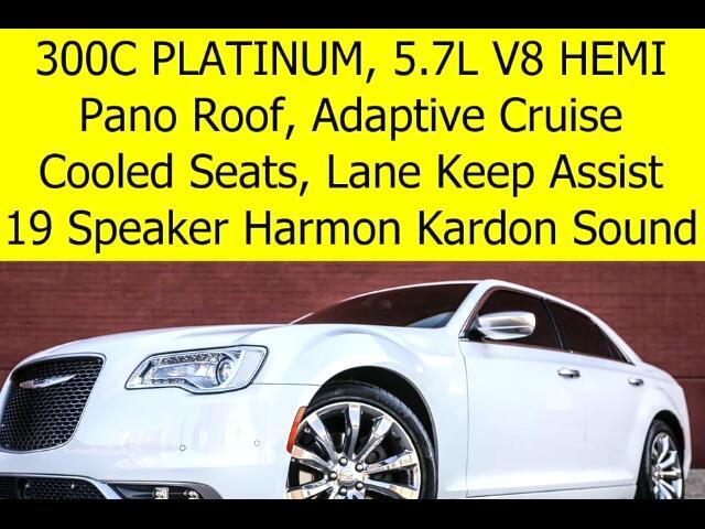 2015 Chrysler 300 C Platinum HEMI Radar Cruise