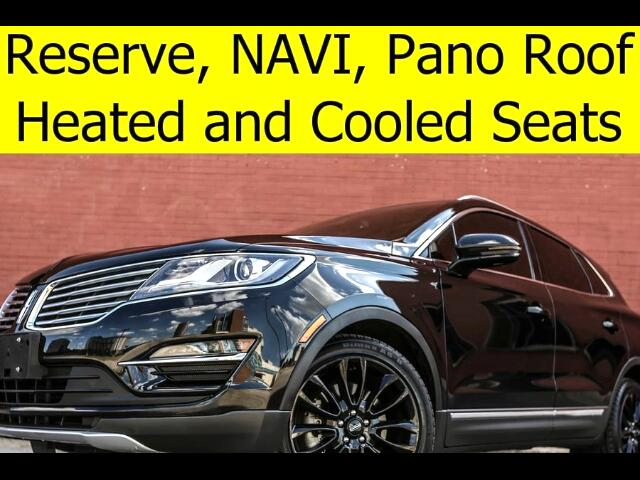 2015 Lincoln MKC RESERVE PANO ROOF COOLED SEATS