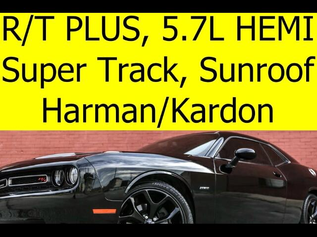 2016 Dodge Challenger R/T Plus with Super Track Package