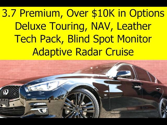 2015 Infiniti Q50 Technology Package Deluxe Touring Package