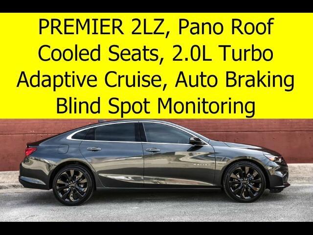 2016 Chevrolet Malibu PREMIER RADAR CRUISE PANO ROOF