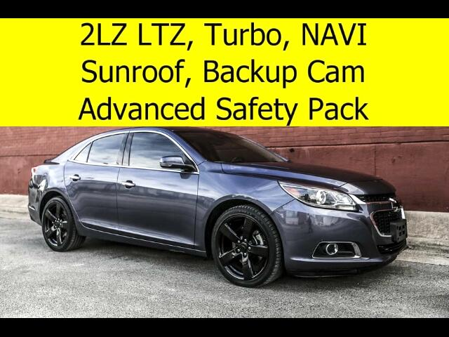 2015 Chevrolet Malibu 2LTZ ADVANCED SAFETY PACK