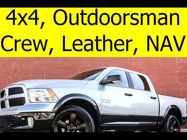 2016 RAM 1500 Crew Cab 4x4 Outdoorsman Leather