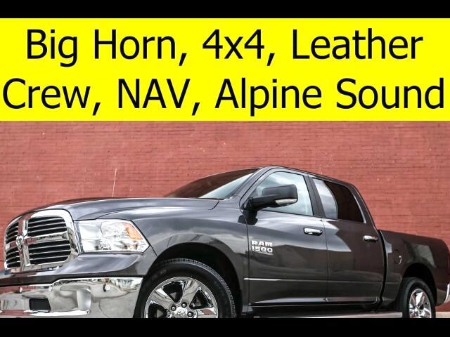 2016 RAM 1500 Crew Cab 4x4 BIG HORN