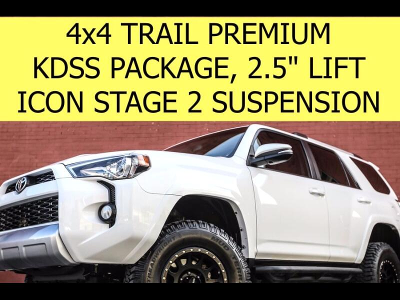 2014 Toyota 4Runner TRAIL PREMIUM 4x4 LIFTED