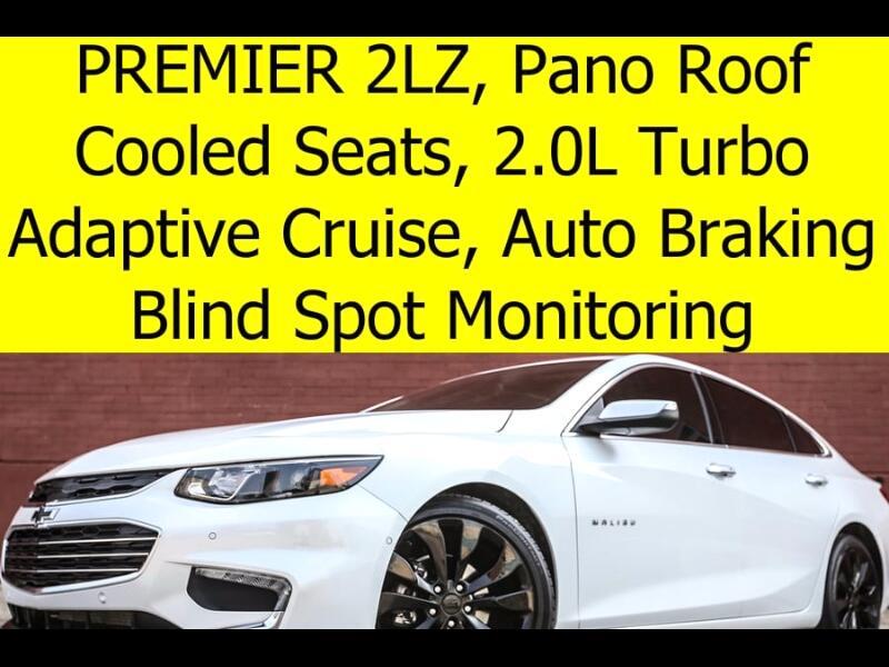 2016 Chevrolet Malibu 2LZ PREMIER RADAR CRUISE CONTROL