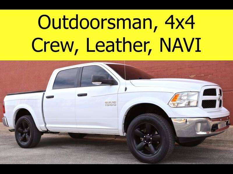 2015 RAM 1500 OUTDOORSMAN CREW CAB 4x4 LEATHER