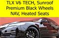 2016 Acura TLX V6 with Tech Package, Black Wheel Package